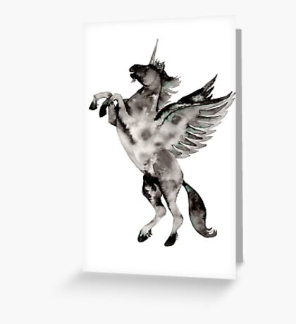 Unique Horn Greeting Card