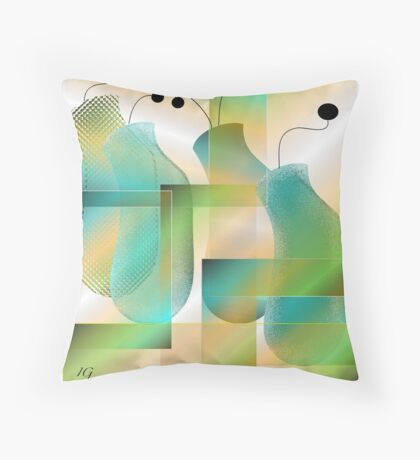 The Other Fab Four Throw Pillow
