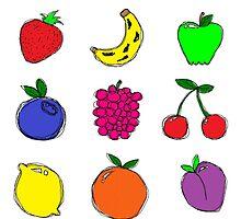 Fruits! by mydirigibleplum