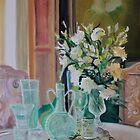 Bunch of white flowers by Stephanie Köhl