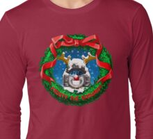 Frosty the Snowbot Long Sleeve T-Shirt