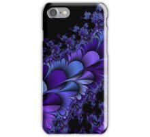 Purple Petals Fractals iPhone Case/Skin