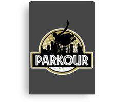 Parkour Canvas Print