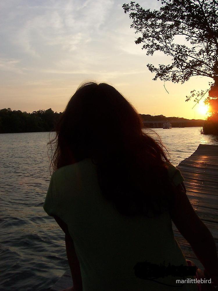 sundown by marilittlebird