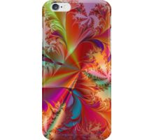 Tropical Feathers Fractal iPhone Case/Skin