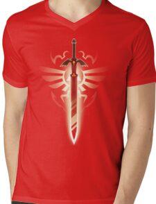 Master Sword solo Mens V-Neck T-Shirt