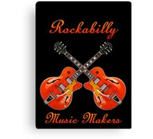 Rockabilly Music Makers Canvas Print