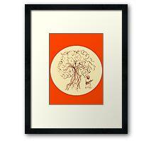 Banjo Tree 1 Framed Print
