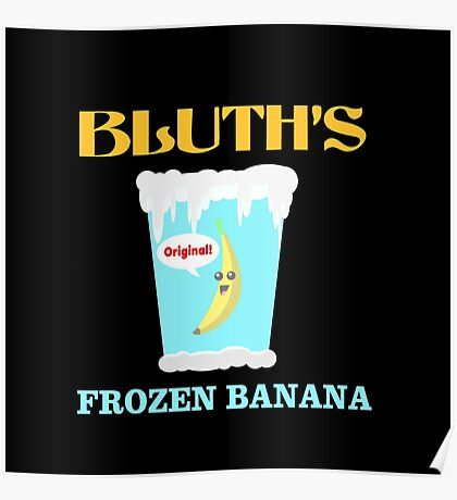 Frozen Banana! Poster