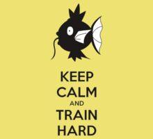Keep Calm and Train Hard Kids Clothes