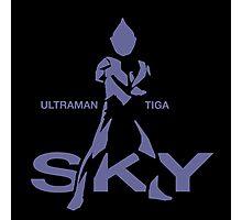 Ultraman Tiga - Sky Type Photographic Print