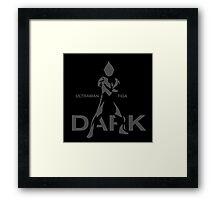 Ultraman Tiga - Dark Type Framed Print