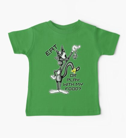 Cat N Mouse Game 2 Baby Tee