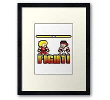 'FIGHT!' Framed Print
