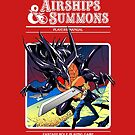 Airships & Summons by coinbox tees