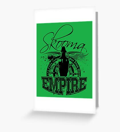 Skooma Empire - Not even once! Greeting Card