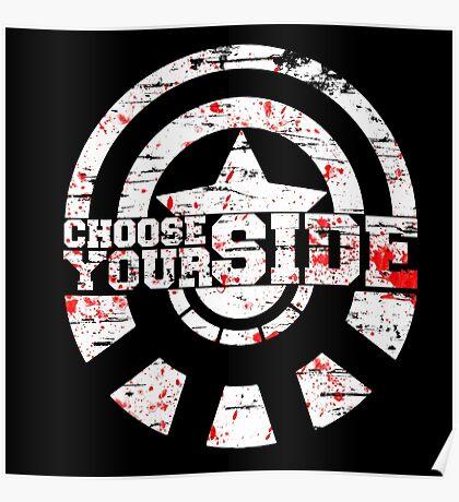 Civil War - Choose Your Side Poster