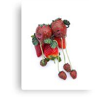 Sam&Suzy strawberry... Canvas Print