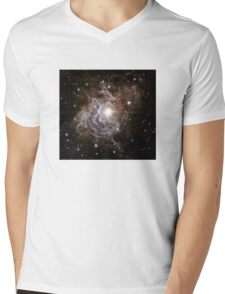 Bright Star in the Universe Mens V-Neck T-Shirt