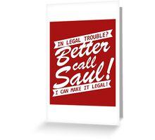 Better Call Saul Greeting Card