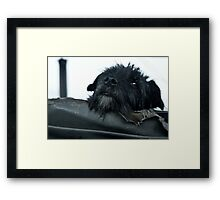 Worn out... Framed Print