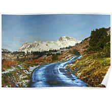 The Road To Blea Tarn. Poster