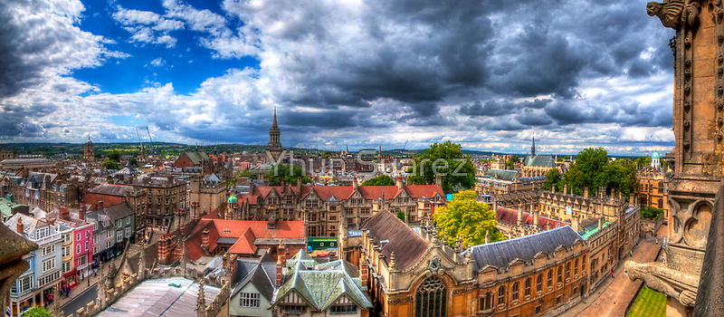 Overlooking Oxford 2.0 by Yhun Suarez