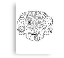 Troll Caricature Canvas Print