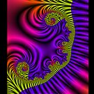 Fractal Ribbons by Susan Sowers