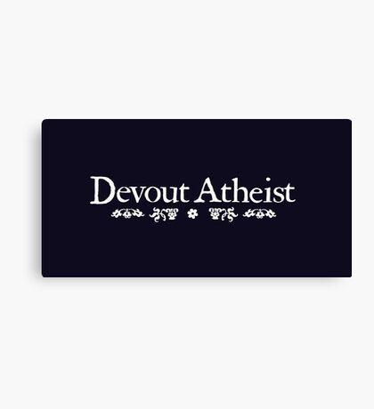 Devout Canvas Print