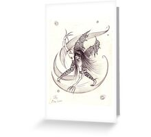 Wickedly Beautiful Greeting Card