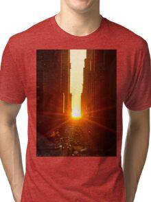 When Time Stands Still Tri-blend T-Shirt