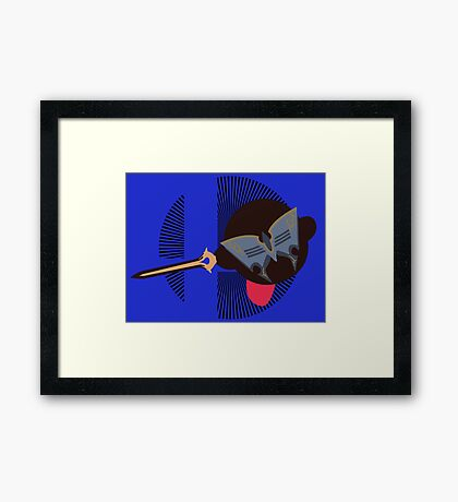 Lucina (Kirby Hat) - Sunset Shores Framed Print