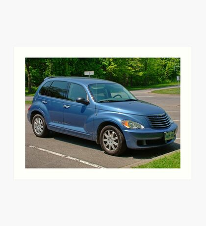 Blue Pt Cruiser Art Print