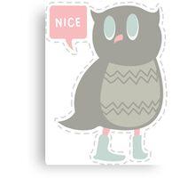 Ye Owl Canvas Print