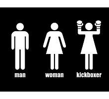 Kickboxer Photographic Print