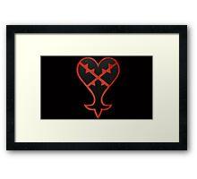 Rugged Heartless Framed Print