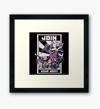 Join Nohr!  Framed Print