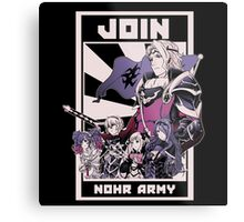 Join Nohr!  Metal Print
