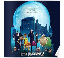 the monsters are back hotel transylvania 2 Poster