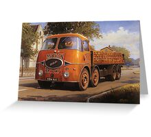 ERF KV Marston Brick Greeting Card