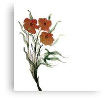 Eloquent Bloom - Floral Canvas Print
