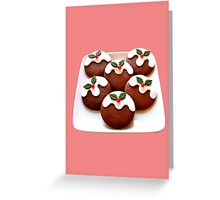 Xmas Cookies Greeting Card