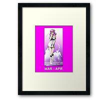FairyTail Aries Framed Print