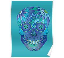 Oceanic Sugar Skull Poster
