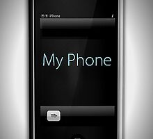 Iphone My phone by Kym Howard