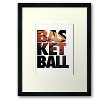 BASKETBALL V2 Framed Print