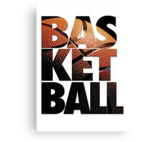 BASKETBALL V2 Canvas Print