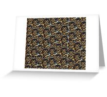 rigby face Greeting Card