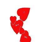 I Love You  [iPhone Case] by RebeccaWeston